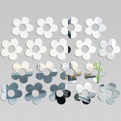 kit Espejos decorativo Acrílico Pléxiglas  florales