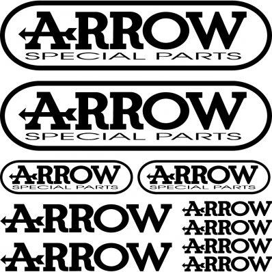 kit pegatinas arrow