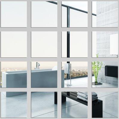 Kit Specchio acrilico Plexiglass quadrati