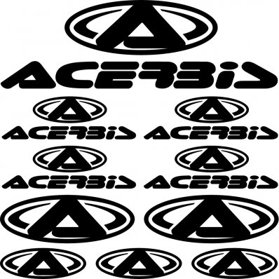 Kit stickers acerbis