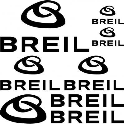 Kit stickers breil