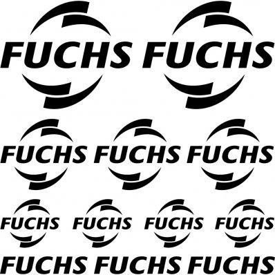 Kit stickers fuchs