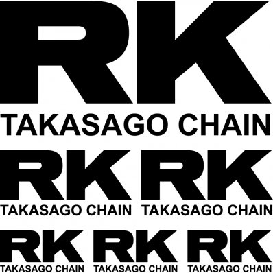 Kit stickers rk takasago
