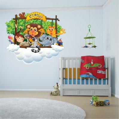 Kit Vinilo decorativo infantil animales