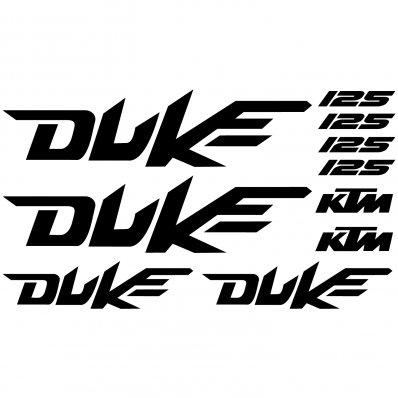 Ktm 125 Duke Aufkleber-Set