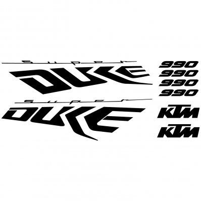 Ktm 990 Super duke Decal Stickers kit