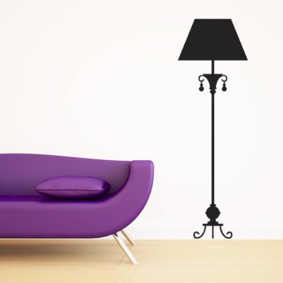 Lamp Wall Stickers