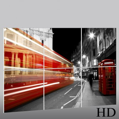 London - Triptych Forex Print