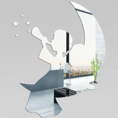 Miroir plexiglass acrylique ange pas cher for Miroir acrylique