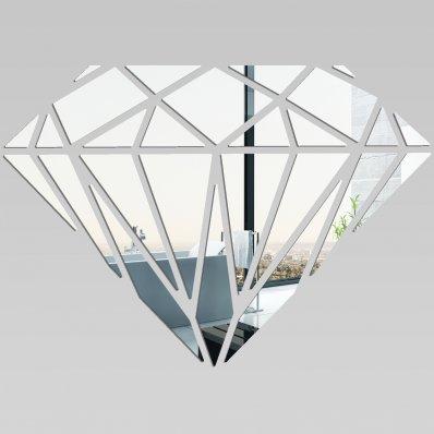 Miroir plexiglass acrylique diamant pas cher for Miroir acrylique