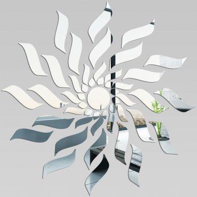 Miroir plexiglass acrylique losange design 2 pas cher for Miroir losange