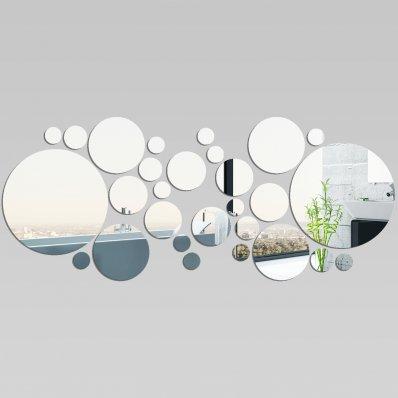 Miroir plexiglass acrylique ronds minimaxi 1 pas cher for Miroir 50x120