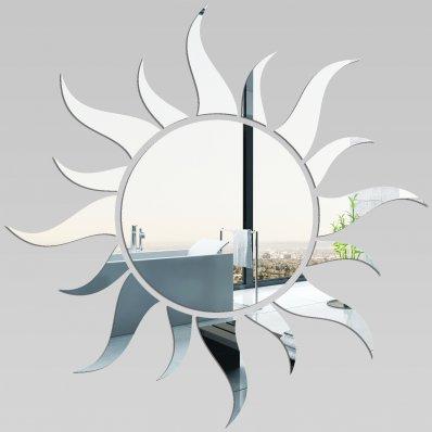 Miroir plexiglass acrylique soleil pas cher for Miroir 40x40