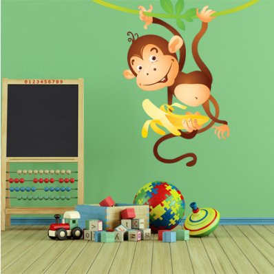 Monkey Wall Stickers