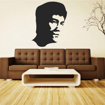 Naklejka ścienna - Bruce Lee