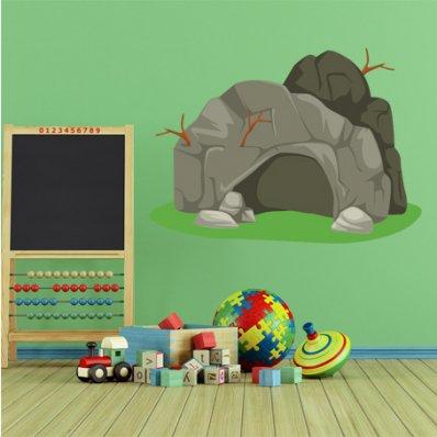 Naklejka ścienna Dla Dzieci - Grota skalna