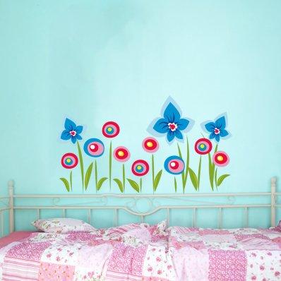 Naklejka ścienna Dla Dzieci - Kwiatki