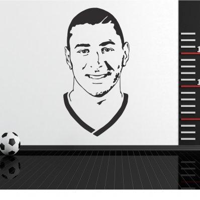 Naklejka ścienna - Karim Benzema