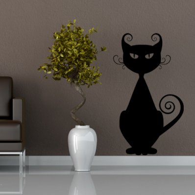 Naklejka ścienna - Kot