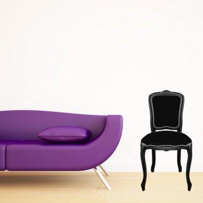 Naklejka ścienna - Krzesło