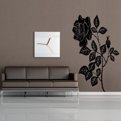 Naklejka ścienna - Kwiat Róży