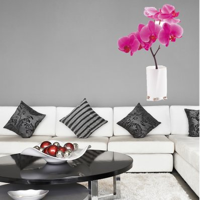 Naklejka ścienna - Kwiatek Orchidea