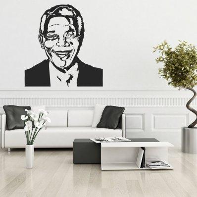 Naklejka ścienna - Nelson Mandela
