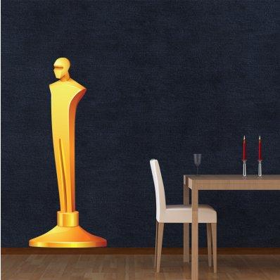 Naklejka ścienna - Oscar