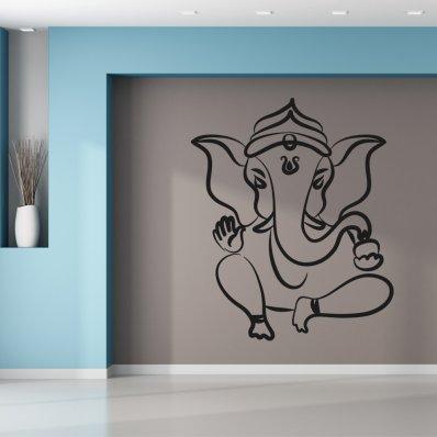 Naklejka ścienna - Słoń Zen