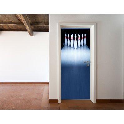 Naklejka na Drzwi - Kręgle