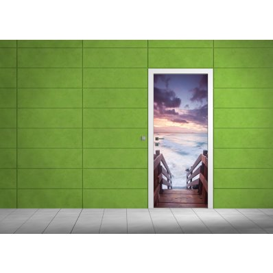 Naklejka na Drzwi - Pomost