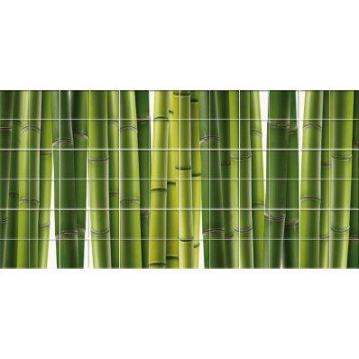 Naklejka na Płytki Ceramiczne - Bambus