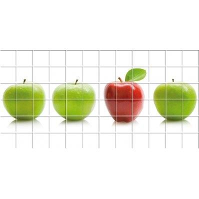 Naklejka na Płytki Ceramiczne - Jabłko