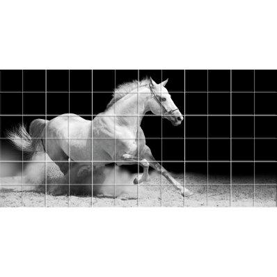 Naklejka na Płytki Ceramiczne - Koń
