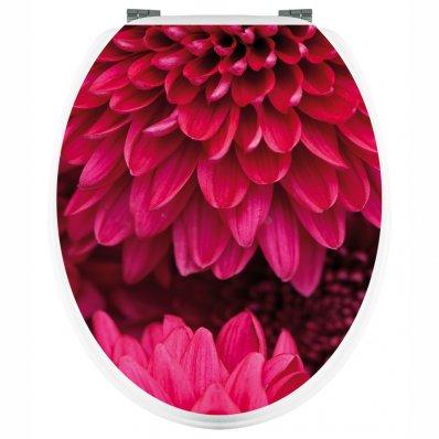 Naklejka na WC - Kwiaty