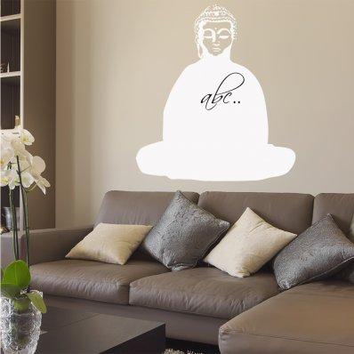 Naklejka Tablica Biała Velleda - Budda
