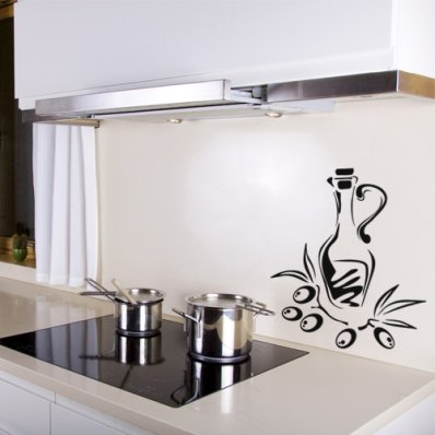 Olive Oil Wall Stickers