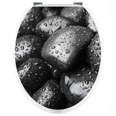 Pebbles - Toilet Seat Decal Sticker