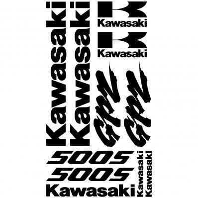 Pegatinas Kawasaki GPZ 500s