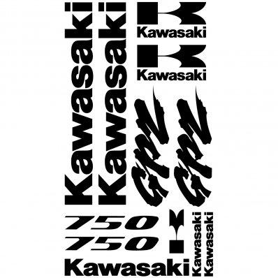 Pegatinas Kawasaki GPZ 750