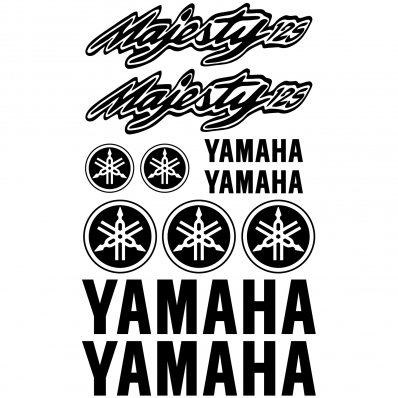 Pegatinas Yamaha Majesty 125