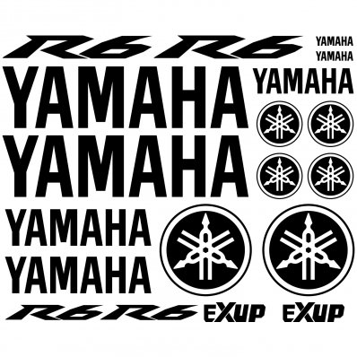 Pegatinas Yamaha R6