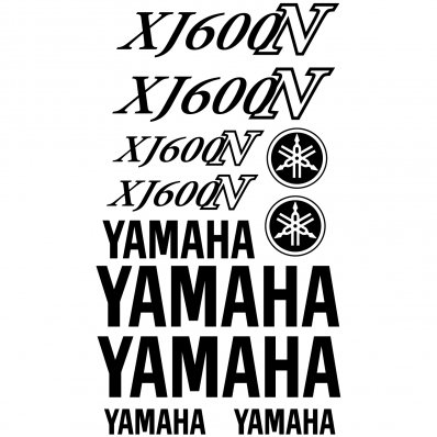 Pegatinas Yamaha XJ600N