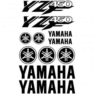Pegatinas Yamaha YZF 450