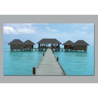 Plakat samoprzylepny - Rajska wyspa