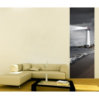 Pojedynczy Samoprzylepny Pasek Plakat - Latarnia Morska