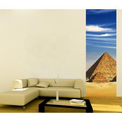 Pojedynczy Samoprzylepny Pasek Plakat - Piramidy