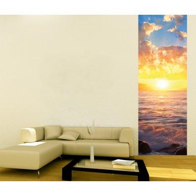 Pojedynczy Samoprzylepny Pasek Plakat - Zachód Słońca