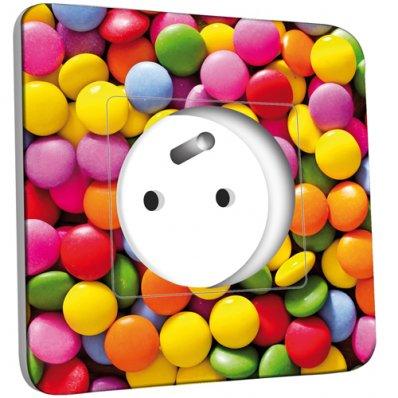 Prise décorée  Bonbons 10
