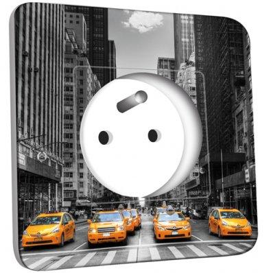 Prise décorée Taxi New York
